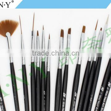 ANY Cheap Wholesale Nail Manufacturer 15 PCS Brush Set Professional And Durable