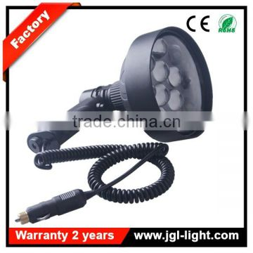 rechargeable spotlight 36w night hunting torch light cree waterproof light