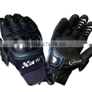 Guangzhou wholesale custom made motorcycle gloves with top quality