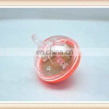 hot sale promotional toy flashing spinning top