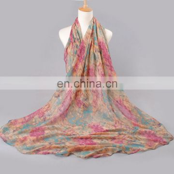 Wholesale cotton voile soft pashmina shawl scarf