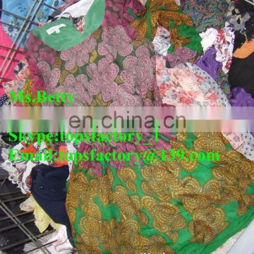 Cream quality second hand clothes unsorted used clothing