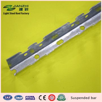 China factory wholesale 50*32mm galvanized steel keel suspended bar for suspending ceiling