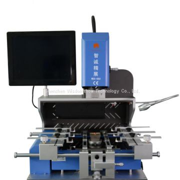 Updated BGA rework station WDS-650 bga optical alignment system