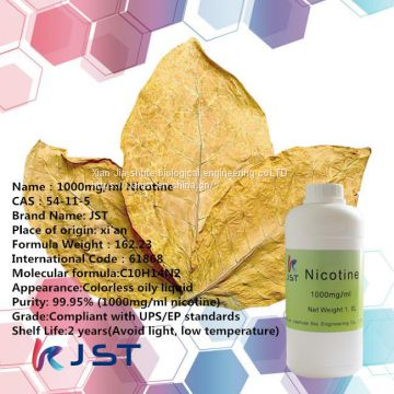 36mg/ml-200mg/ml nicotine from JST