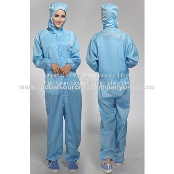 ESD Cleanroom Coverall