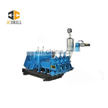 Low price high quality water well drilling mud pump with electric motor or diesel engine driven for soft formation drilling