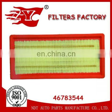 Factory Fiat/F ord/Lancia/Proton Auto parts Air filter 51806865/51775340/50515279/46783544