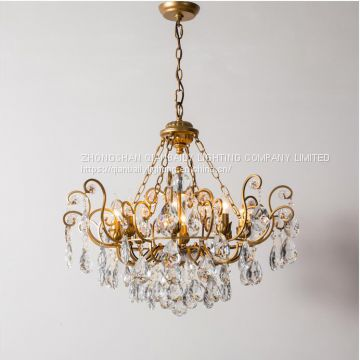 New style Crystal chandelier lighting LED Decorated Chandeliers for hotel hall and villa living room