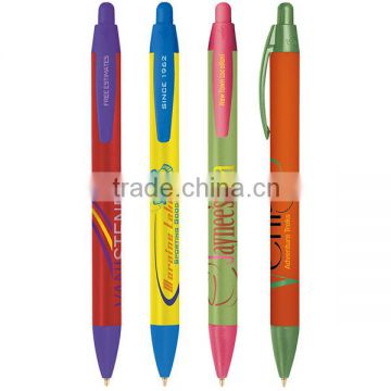 Bic Widebody Clicking Ballpoint Pen With Multiple Ink, Barrel & Cap Color Choices