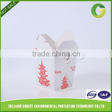 GoBest China alibaba Supplier Disposable paper take away noodle box