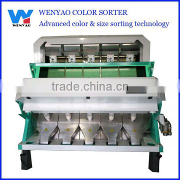5 chutes Low Carryover Rate monocrystalline silicon color sorting machine