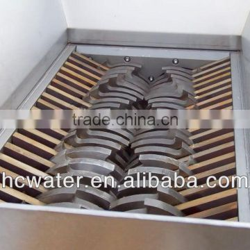 Double shaft cardboard/corrugated board crusher from China