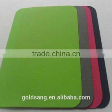 2015 Oblong Sugar Color Heatproof Silicone Mouse Pad
