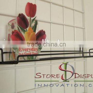 SDG088 Wire Grid Wall Metal Shelf 24x7inch
