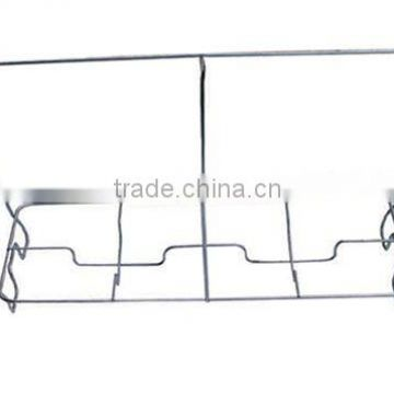 wire stand for aluminum foil tray,chrome plated wire chafer stand