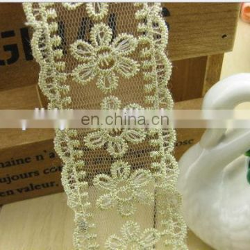 White woven lace for textile