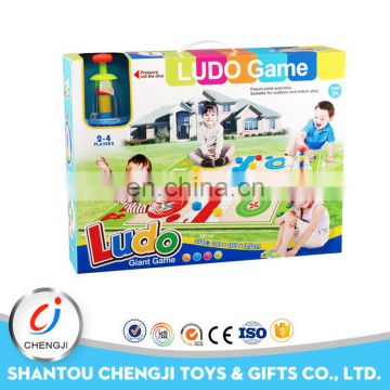 Children educational toy outdoor giant chess set big size ludo game