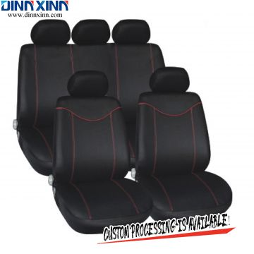 DinnXinn Lexus 9 pcs full set sandwich car seat covers 7 seats supplier China