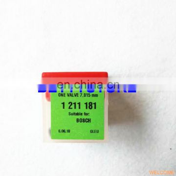 100% original and new REDAT 7.015 valve 1211181 for 0986445002 PLD Diesel fuel injection spare parts