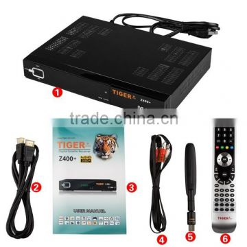 Tiger full hd Z400 plus satellite receiver Support Youtube