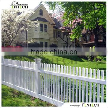 High Quality Cheap Plastic/Vinyl/PVC Cedar Fence Picket