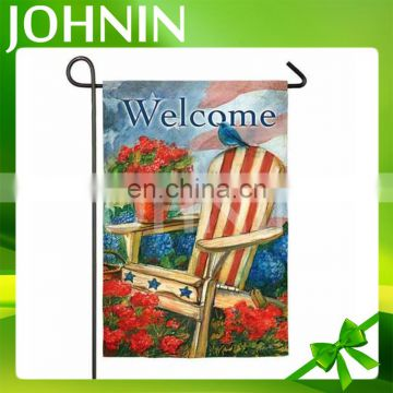 OEM High Quality Custom Printed Outdoor Garden Flag For Decoration