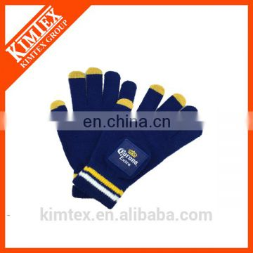 Cute smart finger touch screen winter gloves
