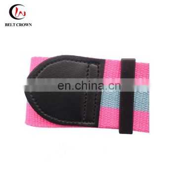 Ajustable polyester luggage belt strap with combination lock