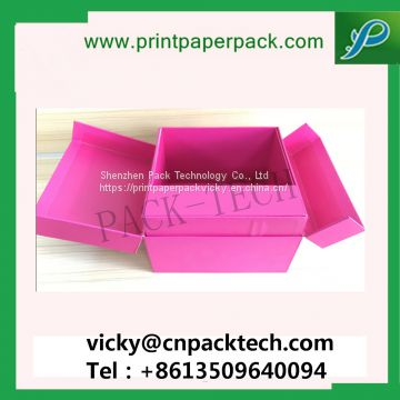 Customized Ribbon Foldable Jewelry / Chocolate/ Cosmetic/Candy Cardboard Christmas Gift Box