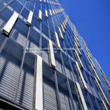 high output 10mm 12mm tempered glass for curtain wall