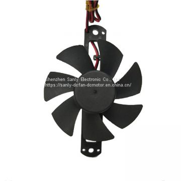 High Speed 3500RPM DC 24V Axial Cooling Fan Frameless Fan