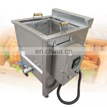 Tofu cassava broad beans frying machine