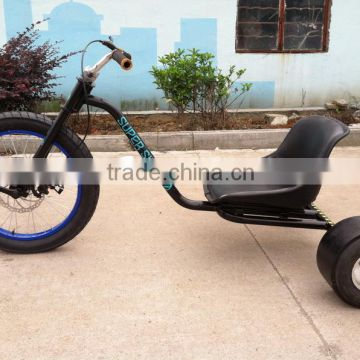 """H"" fat drift trike RB-FHD16 pedal freewheel drift trike for adult down hill slider, pedal go kart"