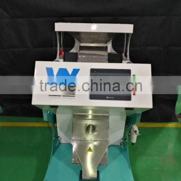 high sorting accuracy one chute hdpe film ccd color sorting machine