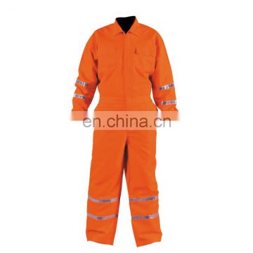 Hi-vis Reflective Working Safety Coveralls, Men`s Coverall Workwear