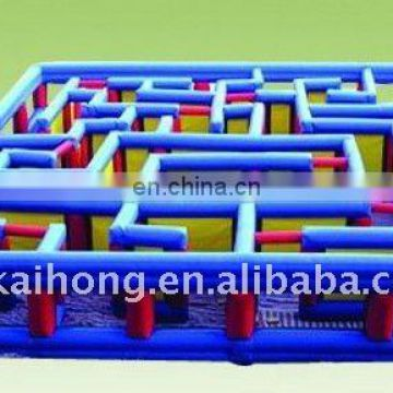 Inflatable maze sport