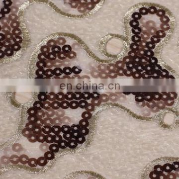 High quanlity organza lace fabric of weeding