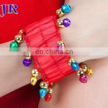 P-9016 Arabic children professional belly dance bracelet with colorful rings for kids