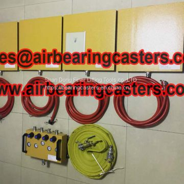 Air Casters Heavy Moving Equipment