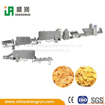 Hot Sale Breakfast Cereal Roasted Corn Flakes Production line