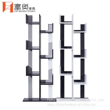Aluminum Living Room Furniture Display Bookcases Shelves