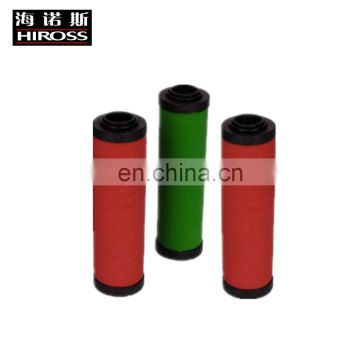 High efficiency  compressed air filter element for precision air filter