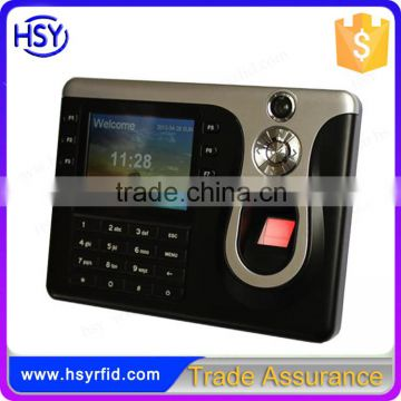 HSY-307 Spanish and English 3000 cards biometric fingerprint time