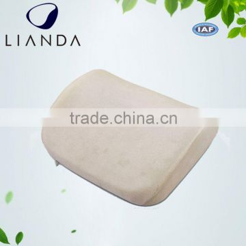 memory foam lumbar cushion,wedge shape back support cushion,car support cushion