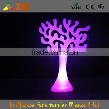 outdoor remote control 16 colors changing led lighted willow tree with CE,ROHS,UL standard GD402