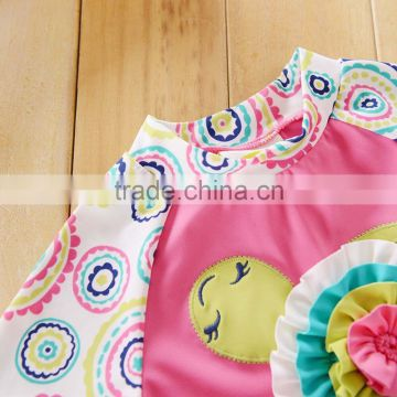 baby rash guard New baby girl Rash Guards swimwear children girls kids swim wear polyester pink swimming suits clothes