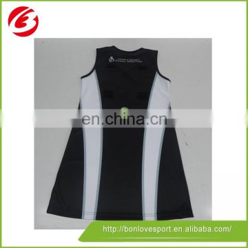 100% top polyester netball jerseys buy