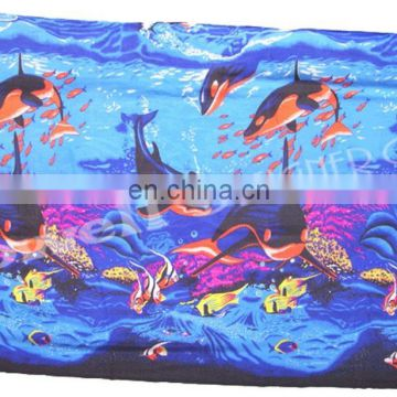SEA PRINTE POLY COTTON SARONG/BEACH WRAP