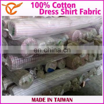100% Cotton Gracful Shirt Fabric Stock Lots